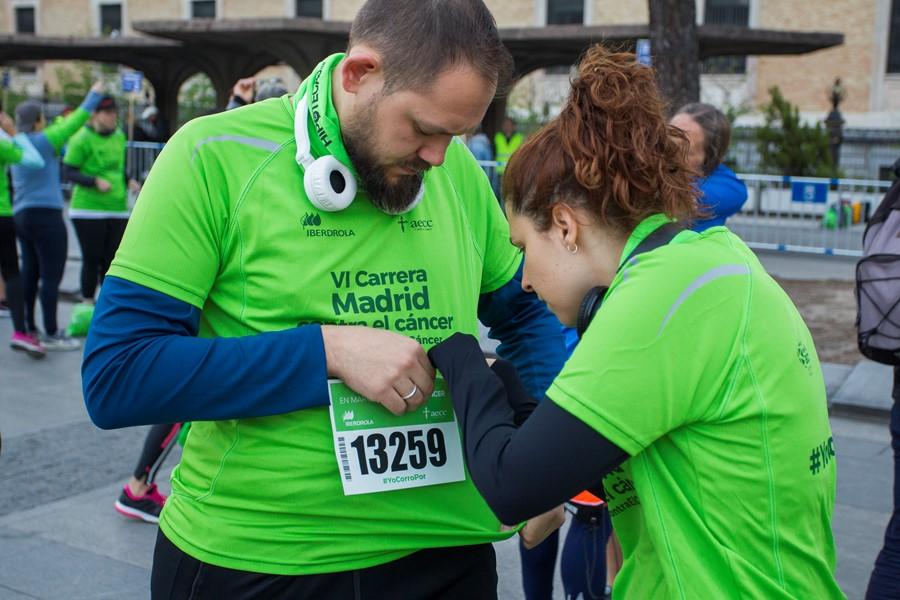 Carrera en marcha contra el cáncer Madrid 2019